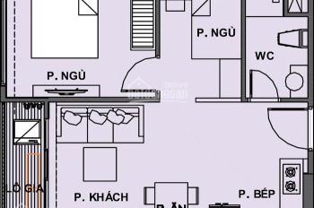 Bán căn hộ Ricca 2PN/1Wc view bao đẹp ở vòng xoay Phú Hữu, Q9 - giá 28tr/m2, LH 0915 93 24 24