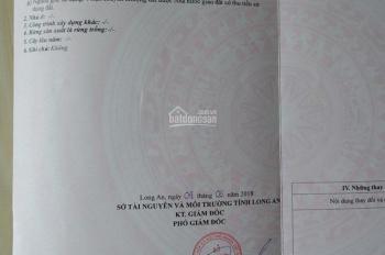 Gấp! Tôi cần tiền nên bán 107m2 đất thổ cư sát khu dân cư Tân Đô Đức Hòa - KCN Tân Đô, giá 4 tr/m2