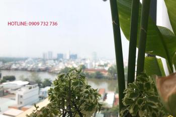 Cho thuê CH Florita 57m2, 2PN, view sông thoáng mát, có ảnh thật chỉ 11tr/tháng. LH 0909 732 736
