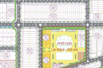 Bán gấp đất 2 mặt tiền chợ Lai Nghi, Hội An