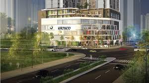 Cho thuê tầng 1 tòa nhà Hà nôi Center Point, Lê Văn Lương diện tích 120m2, mt: 8m