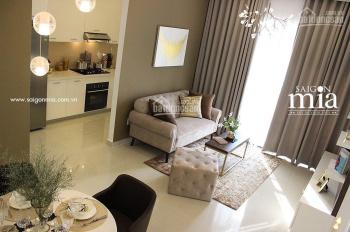 Duy nhất căn 1PN có đầy đủ nội thất Sài Gòn Mia Trung Sơn giá 2.6 tỷ. LH 0902.924.008