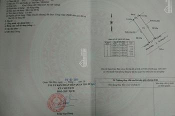 Bán đất thổ cư đường số 1, Linh Xuân, DT: 63m2, giá: 2.65 tỷ hẻm 7m giá đầu tư. LH: 0967.666.002