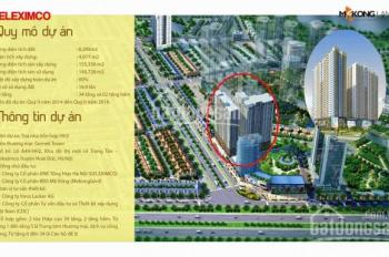 bán căn hộ chung cư Gemek Tower - Huyện Hoài Đức  tầng 6, 72m full nội thất, giá sốc