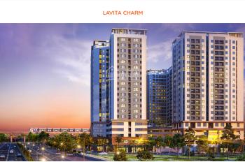 Cần tiền bán gấp căn hộ Lavita Charm giá rẻ chỉ 1.7 tỷ, ngân hàng hỗ trợ 70% - LH 0986411609