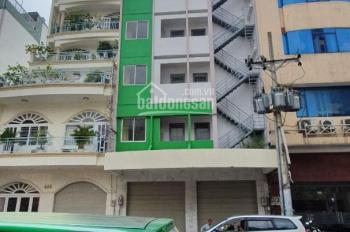 Cho thuê tòa nhà KS 40 phòng thang máy MT Trương Định P.Bến Thành Q1 DT:6.5x20m 700tr