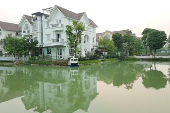 Bán BT Hoa Phượng 500m Vinhomes Riverside bể bơi view ngã ba sông rộng, hoàn thiện đẹp giá 45 tỷ