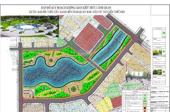 Bán đất KDC Nguyễn Thế Nho, TT Bích Động, Việt Yên, nhìn TT Thương mại