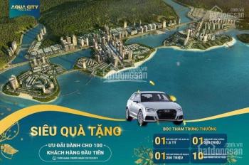 Độc quyền căn góc nội bộ, không chênh, giá gốc CĐT Aqua City Bim Hạ Long. LH 0847309999