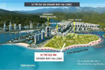 106 căn biệt thự liền kề duy nhất mặt biển Bãi Cháy - Hạ Long từ 8 tỷ 114m2, LH: 0919365655