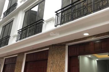 Bán nhà mới xây ngõ 117 phố Lãng Yên, HBT, Hà Nội, DT 35m2x5T giá 3.4 tỷ