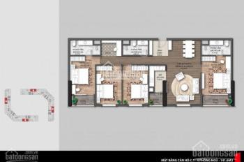 Bán căn căn 4 PN 149m2 tòa E4 dự án CT8 Mỹ Đình, nhà rất rộng, các phòng đều thoáng 0906248669
