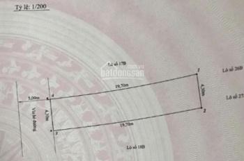 Bán đất mặt đường Quán Nam đoạn Cầu Gù, Kênh Dương, Lê Chân, Hải Phòng