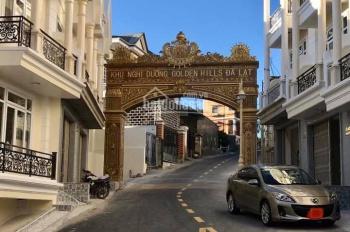 Cần bán xuất liền kề đẹp nhất Golden Villa Hill Đà Lạt, nhà 1 trệt - 2 lầu, nội thất cao cấp