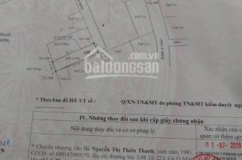 Bán đất sổ đỏ Phường Phú Thuận, Quận 7, vị trí đẹp, giá tốt LH 0972115668
