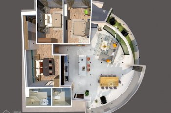Bán căn hộ vip 3 phòng ngủ, Gateway Vũng Tàu thanh toán 15%, LH 0917500178 A. Tâm (zalo/viber)