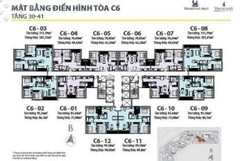 Bán gấp D'capitale Trần Duy Hưng - giá 4,5 tỷ - diện tích 112m2
