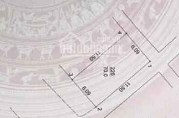 Bán nhà mặt phố Lê Lai 70m 3 tầng, mt 6.1m, nhà 3 mặt thoáng