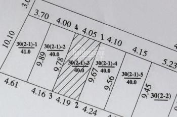 Chính chủ bán gấp mảnh đất 780tr ô tô vào Võng La - Võng La, sổ đỏ đất ở, ngay cầu Thăng Long