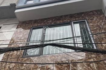 Cần bán nhà Định Công Hạ 38m2 x 5T, lô góc ô tô nhà mới đẹp ở ngay