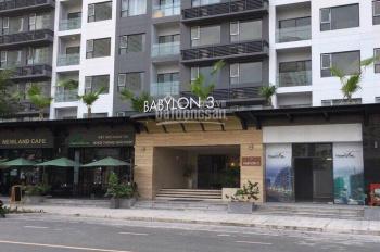 Cần cho thuê gấp căn hộ cao cấp dự án New City Thủ Thiêm. Tòa nhà Babylon 3, 17 Mai Chí Thọ, Quận 2