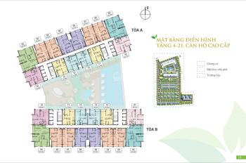 Bán căn 2P Tầng 16 Tòa B, vào tên HĐ, giá 2,6xx tỷ. Green Pearl  LH: 0984592846