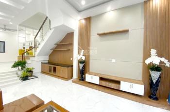 Bán nhà 1 trệt 2 lầu sát KDC Phú Hòa 1, xây mới 100%, đường nhựa 6m