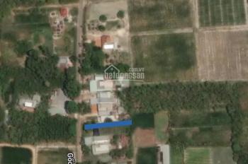 Bán đất mặt tiền đường Gốc Rưng, Xã An Nhơn Tây, Củ Chi, DT 770m2, 4.8 tỷ