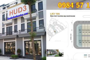 Bán nhà mặt phố Quang Trung Sơn Tây, đường 35m2. Giá 51 triệu/m2 hoàn thiện 3,5 tầng