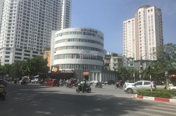 Cho thuê nhà mặt phố Trung Hòa mặt tiền 30m lô góc. 250m2 x 5 tầng