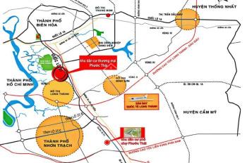 Bán đất KDC Phước Thái,gần MT Quốc Lộ 51, Long Thành DT 80 - 100m2 giá 13tr/m2 .Lh: 0934838891