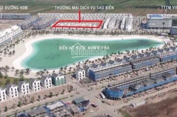 Bán Shop TMDV San hô đối diện Vinuni, Sao biển gần Biển nước mặn, cam kết lấy căn đẹp. 0911 781 333