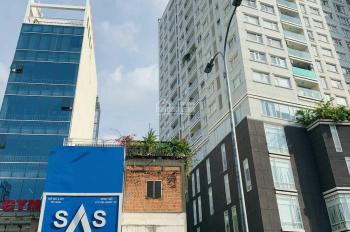 Bán gấp tòa nhà văn phòng mặt tiền đường nhánh Trường Sơn Tân Bình, hầm 8 lầu, 9x28m, 53 tỷ