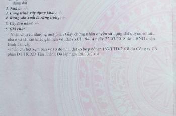 Đất hẻm 703, Lê Trọng Tấn, diện tích: 4.15x15.2m, giá 4.4 tỷ