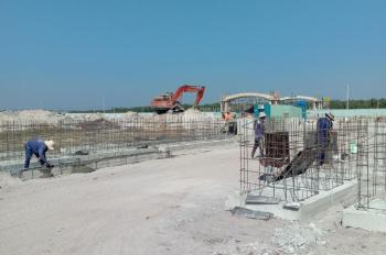 Bán nhà lửng xây sắp xong, ngay sau lưng kcn