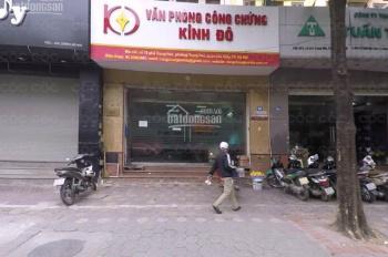 Cho thuê nhà MP Trung Hòa dt 140m*4,mt 5,8m giá 4000$
