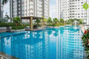 Bán căn hộ sổ đỏ Sunrise Centrel W4 Quận 7  tầng trung full nội thất view hồ bơi Dt:90m2 giá 5 tỷ