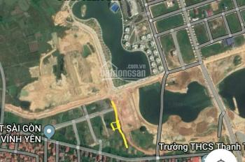 Bán lô đất đường 16m view hồ khu Thảy Nảy Thanh Trù Vĩnh Yên