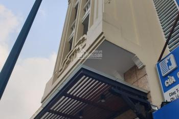 Cho thuê tòa nhà văn phòng mặt tiền Bạch Đằng, Tân Bình. DT: 5x22m. Nhà 7 tầng. Gía chỉ 160 triệu