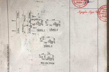 Bán nhà mặt tiền đường Số 2, p.Tân Kiểng, Q7 DT 3,85x11,5m NH 5m, nhà 1 trệt 2 lầu ST, giá 8 tỷ