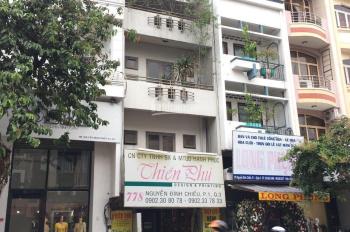 Cho thuê  văn phong 2MT Hai Bà Trưng 5lầuTM, 6,2x19m 130tr Tân Định, Q1 0918577188