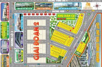 Mở bán giai đoạn 1 khu đô thị ngay bệnh viện Xuyên Á, 80 m2, chỉ 650 triệu, Củ Chi, LH: 0901 484 33