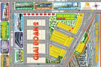 Khu đô thị thành phố ngay bệnh viện Xuyên Á, giá F1, có SHR, 80m2, từ 650 triệu. LH: 0901 484 338