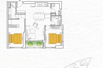 Đảo Kim Cương Q2 - 2 phòng ngủ Full nội thất (Căn góc 2 view , View hồ bơi và View sông) Giá 5.8 tỷ