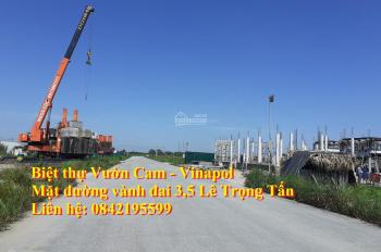 Chính chủ bán lô biệt thự 240m, đô thị Vườn Cam - Vinapol,Vân Canh, Hoài Đức,