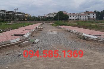 Lô 40m2 khu DV2A 2 đất liền kề Cửu Cao cần bán gấp giá công khai 28.5 triệu/m2 094.585.1369