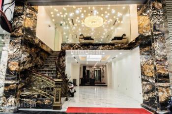 Cho thuê nhà mới xây MP Phan Đình Phùng, Hàng Bún, 90m2 x 4 tầng, MT 6m. LH: 0946850055