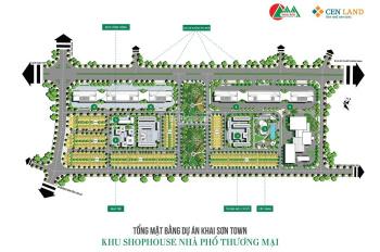 Bán Gấp 2 Lô Shophouse Khai Sơn City -Tower 8 View Hồ Lô 8.39 -8.41- Đất Rồng Sinh Phú Quý