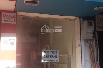 Cho thuê cửa hàng mặt phố Khâm Thiên, Đống Đa, Hà Nội