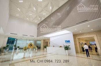 Cho thuê văn phòng cao cấp hạng A tòa TNR Vincom 54 Nguyễn Chí Thanh, đẹp nhất quận Đống Đa